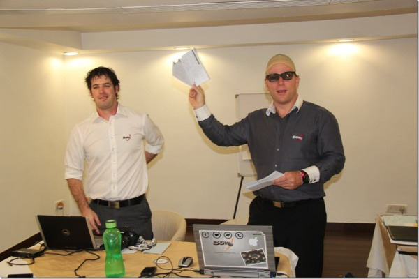 The new Product Owner getting excited when he saw his new app Tailspin running